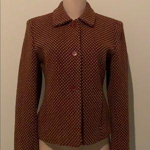 Wool Twead Jones New York suite jacket.
